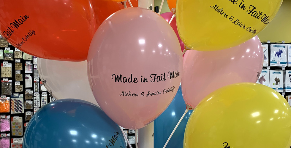 Ballons Made in Fait Main