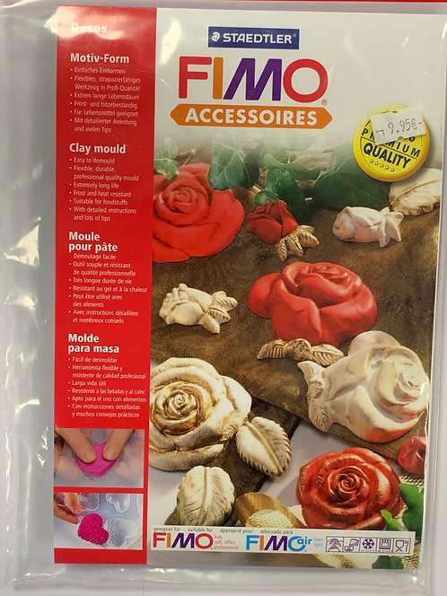 MOULE SILICONE STAEDTLER ROSES