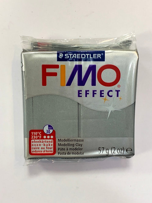 FIMO EFFECT ARGENT METALLIQUE 57G