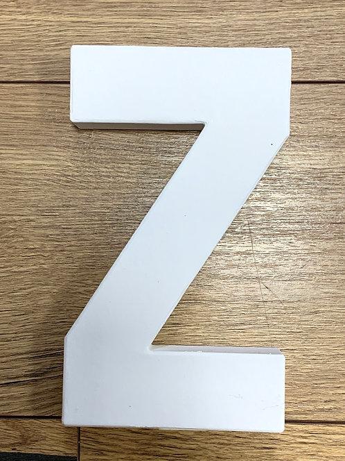 LETTRE Z  CARTON 20.5X2.5X12CM