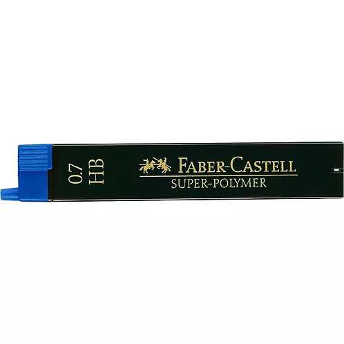 MINES SUPER-POLYMER FABER-CASTELL 0.7 HB