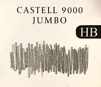 CRAYON GRAPHITE FABER-CASTELL 9000 JUMBO HB