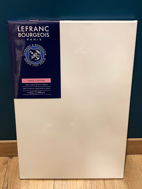 CHASSIS LEFRANC BOURGEOIS COTON 350G 40X60CM
