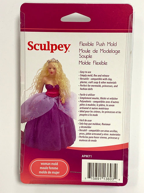 MOULE SILICONE SCULPEY FEMME