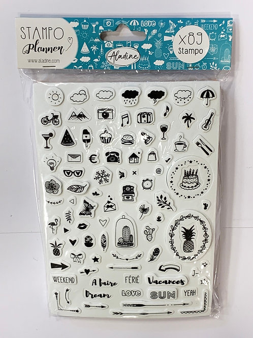 TAMPONS PLANNER JOURNAL