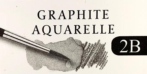 CRAYON GRAPHITE AQUARELLE FABER-CASTELL 2B