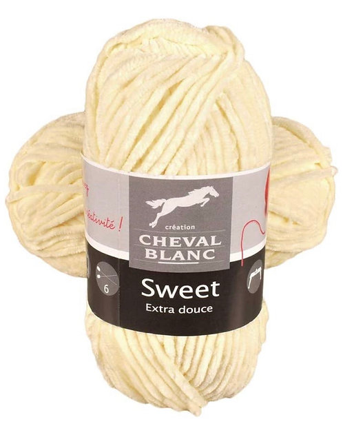 SWEET 100% POLY100G 120M PAILLE