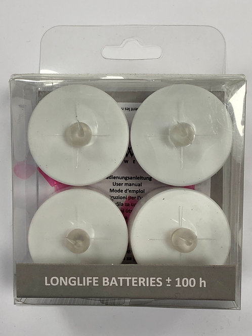 BOUGIE LED 4 PIECES