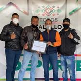 ENTREGAN RECONOCIMIENTO A PARTICIPANTES DEL MERITO DEPORTIVO POR PARTE DEL GOBIERNO MUNICIPAL