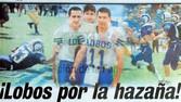 LA PRESENTACIÓN DE LOS LOBOS EN LA CONFERENCIA DE LOS DIEZ GRANDES DEL FUTBOL AMERICANO MEXICANO