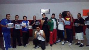 CON GRAN ACEPTACION CELEBRAN COMBATES DE BOX EN LA MAQUINITA
