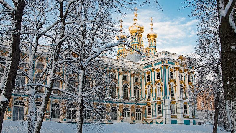 Пушкин (Царское Село) с посещением Екатерининского дворца и Янтарной комнаты