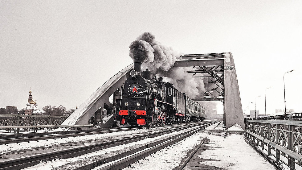 Путешествие в Рускеала на Ретро-поезде