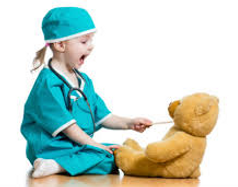 Child Doctor and Teddy Bear