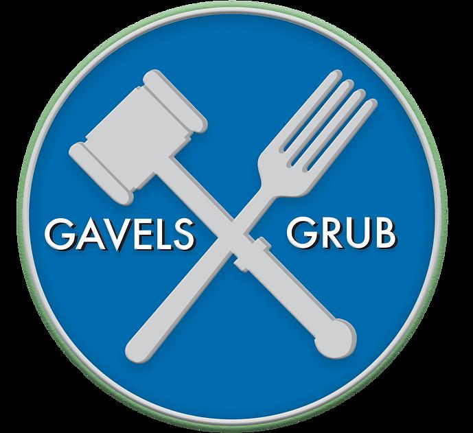 Gavels and Grub Logo