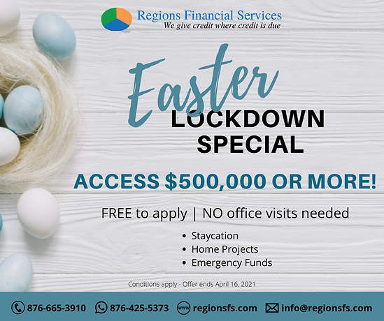 RFS Easter Loan Offer