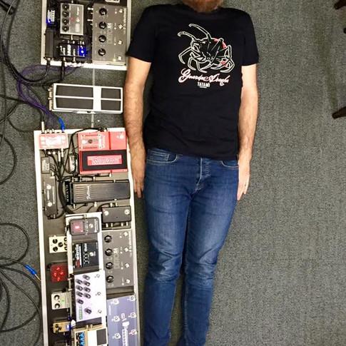 Ed O'Brien's board, Radiohead