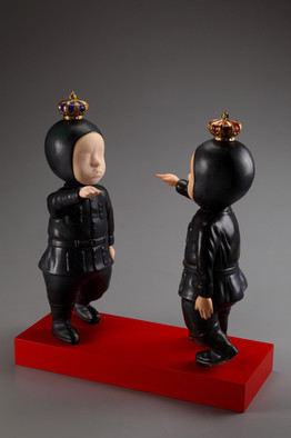 About the Ego of -The Battle of Mind  2014  「有關小我-心之戰役」美國陶瓷教育年會邀請展