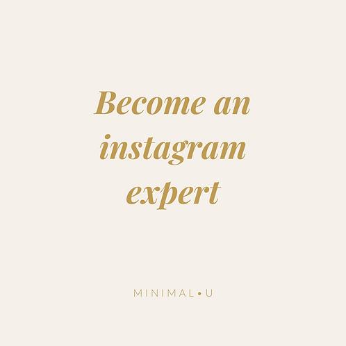 Become an Instagram Expert (Dutch only)