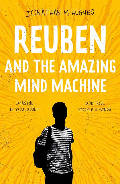 Rueben and the amazing mind machine book cover