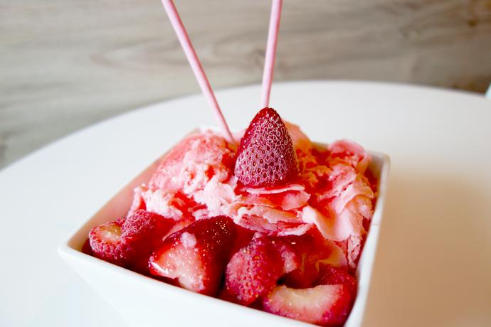 Strawberry Snow Ice