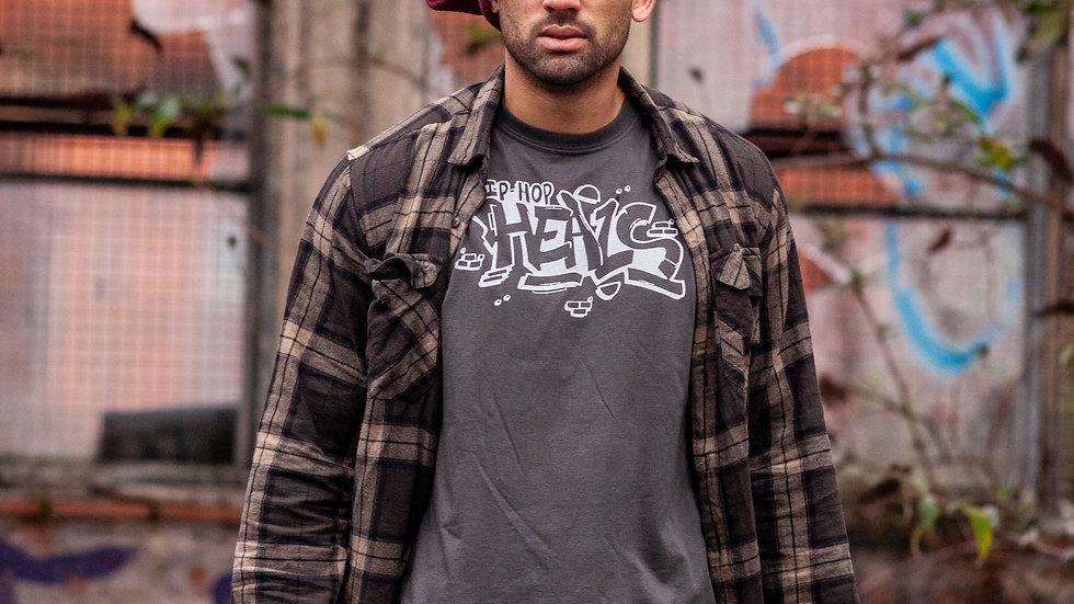 GREY Hip Hop HEALS Fundraising Teeshirt