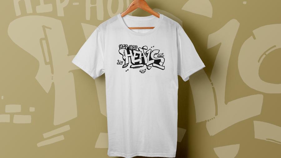 Hip Hop HEALS Fundraising Teeshirt