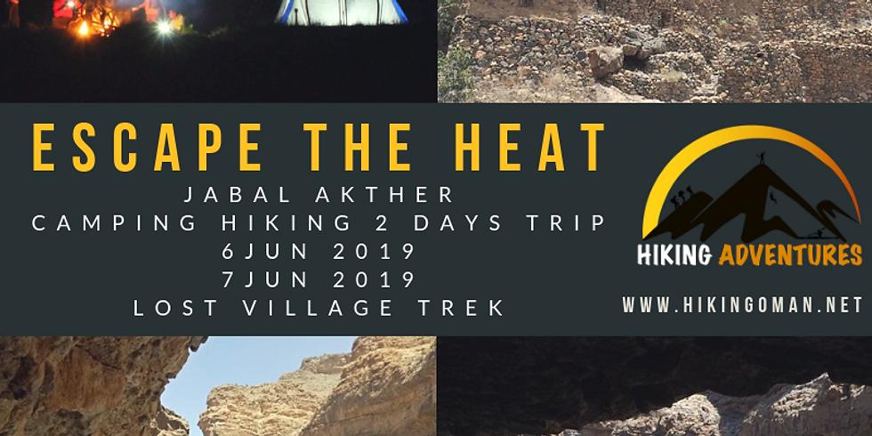 (lost village trek) escape the heat  jabal akhther  (1)