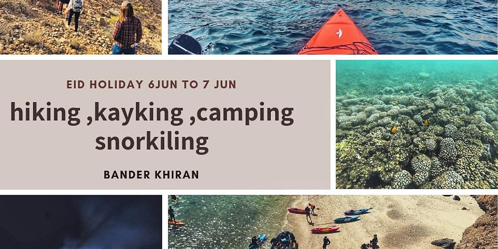 hiking,kayaking,camping,snorkeling  (1)