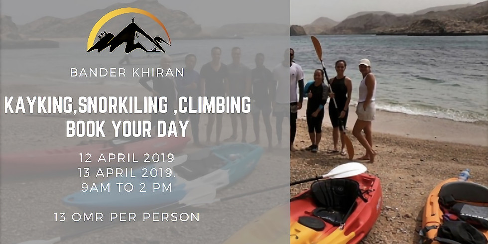 kayaking snorkeling