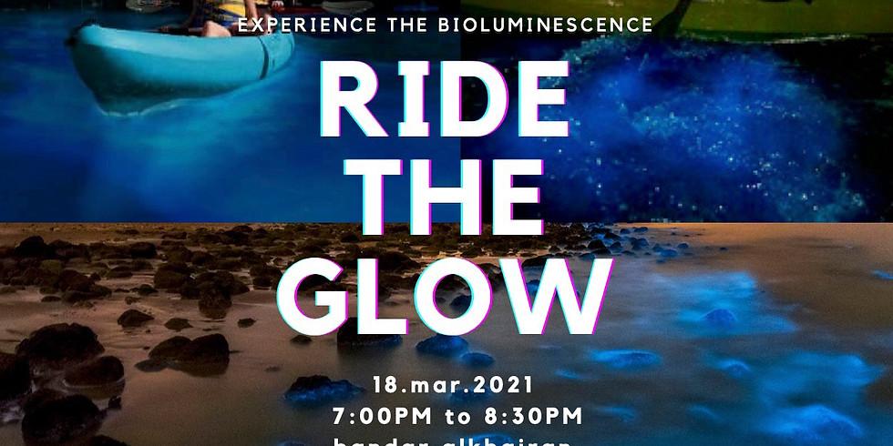 ride the glow kayaking