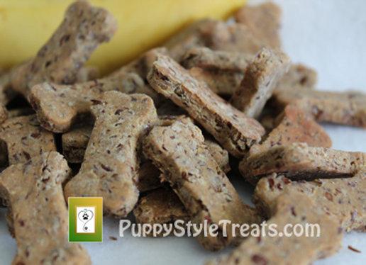 1 lb ~ BANANA/ORGANIC PEANUT BUTTER - Paw Licker®