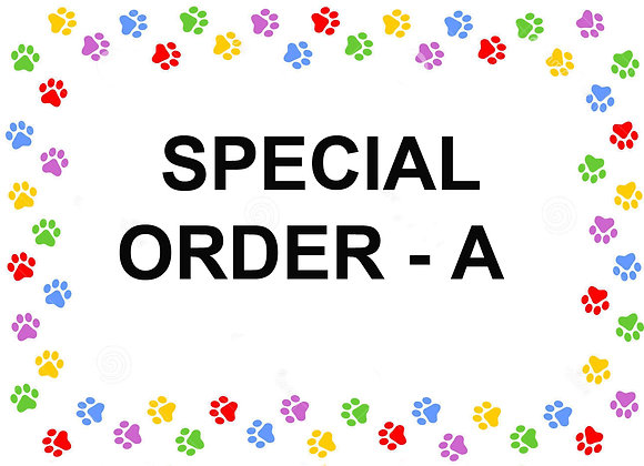 SPECIAL ORDER - A