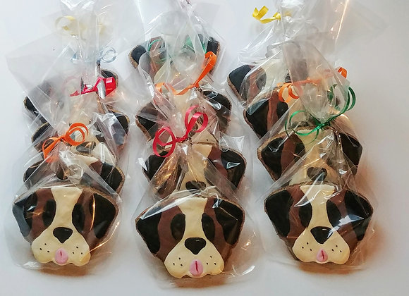 Saint Bernard Decorated Treats - set of 12