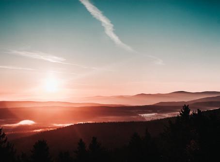 Nejkrásnější východ slunce na Šerlichu