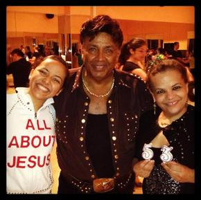 Eddie, Maria, and Nadia Torres