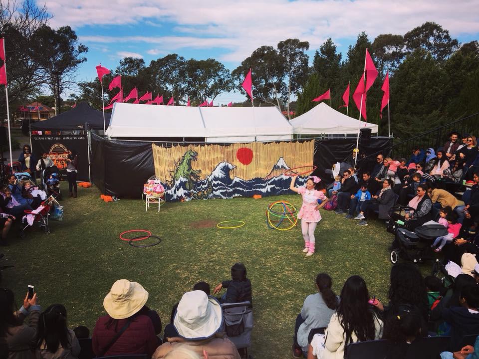 シドニーで開催される日本のお祭りの写真