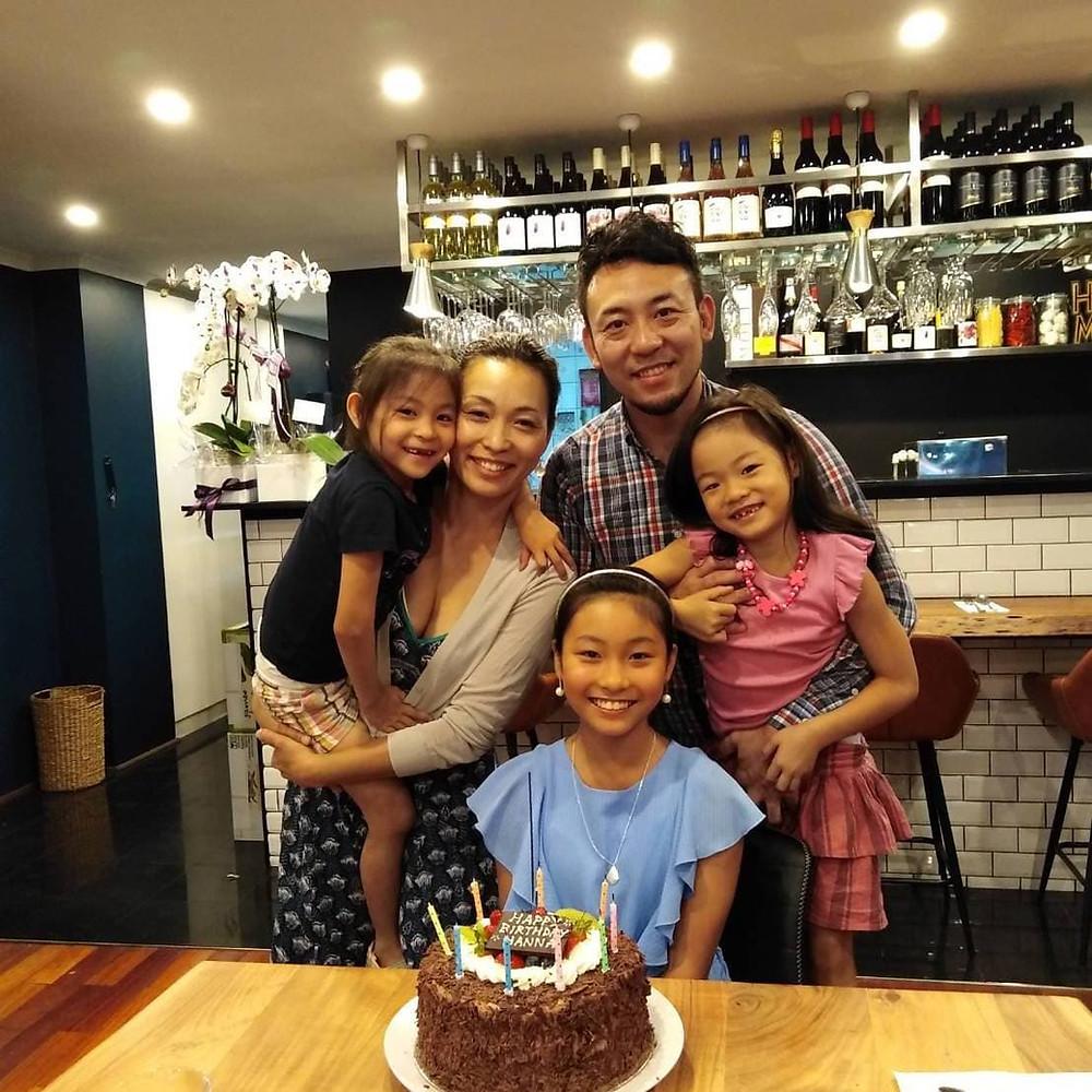 寺澤家の家族写真