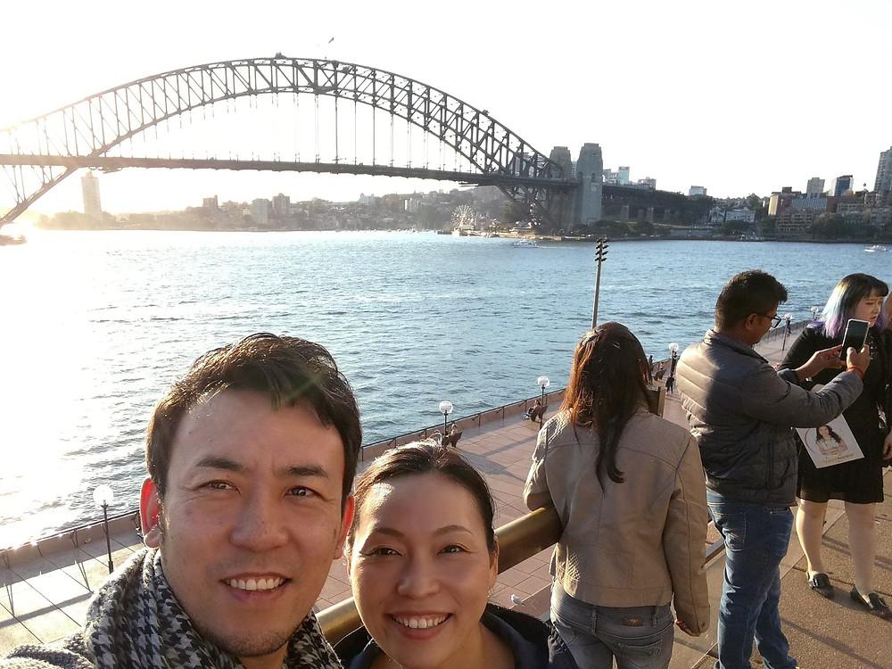寺澤夫婦の写真