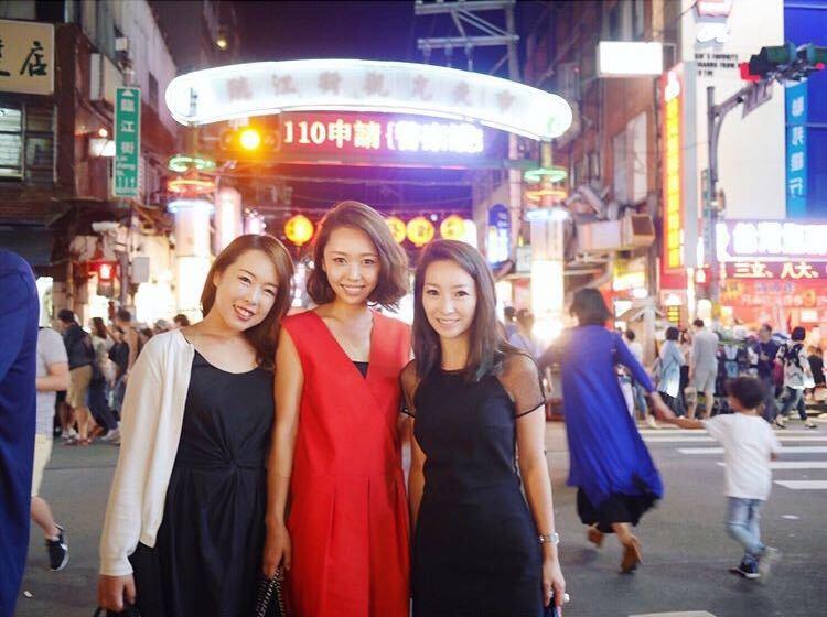台湾のよるの写真