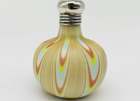 Victorian Silver Mounted Scent Bottle C1890