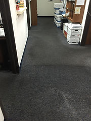 OFFICE CARPET CLEANING GREAT JOB