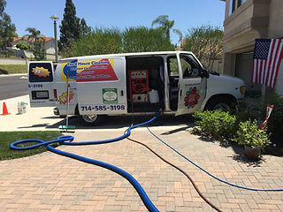 POWER FULL EQUIPMENT  TO CLEAN CARPET AT 200 FT AWAY