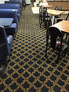 VERY DIRTY RESTAURANTE CARPET, WE CLEAN LOOKS NEW