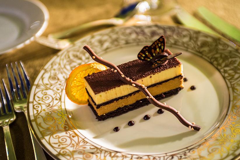 Dinner on the Desert Dessert