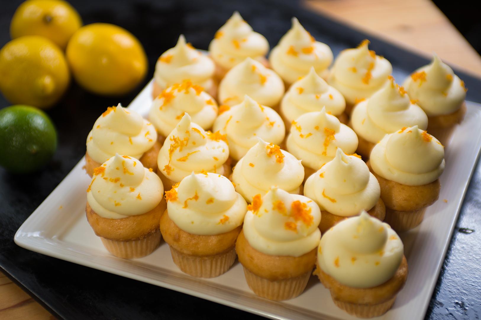 Citrus Olive Oil Cupcakes