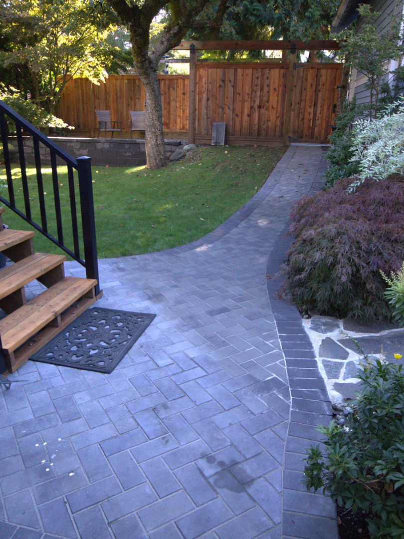Queens Park - pavers/stairs