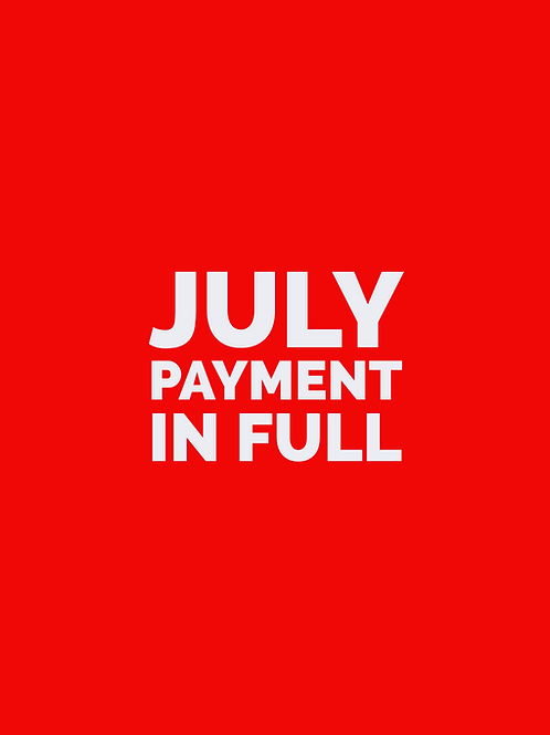 JULY FULL TUITION - Household