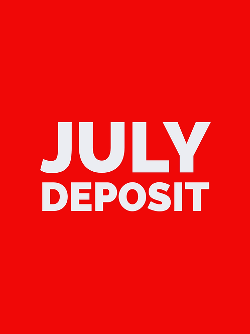 JULY DEPOSIT - Household