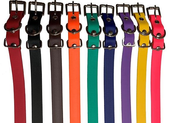 3/4 inch Biothane Collars